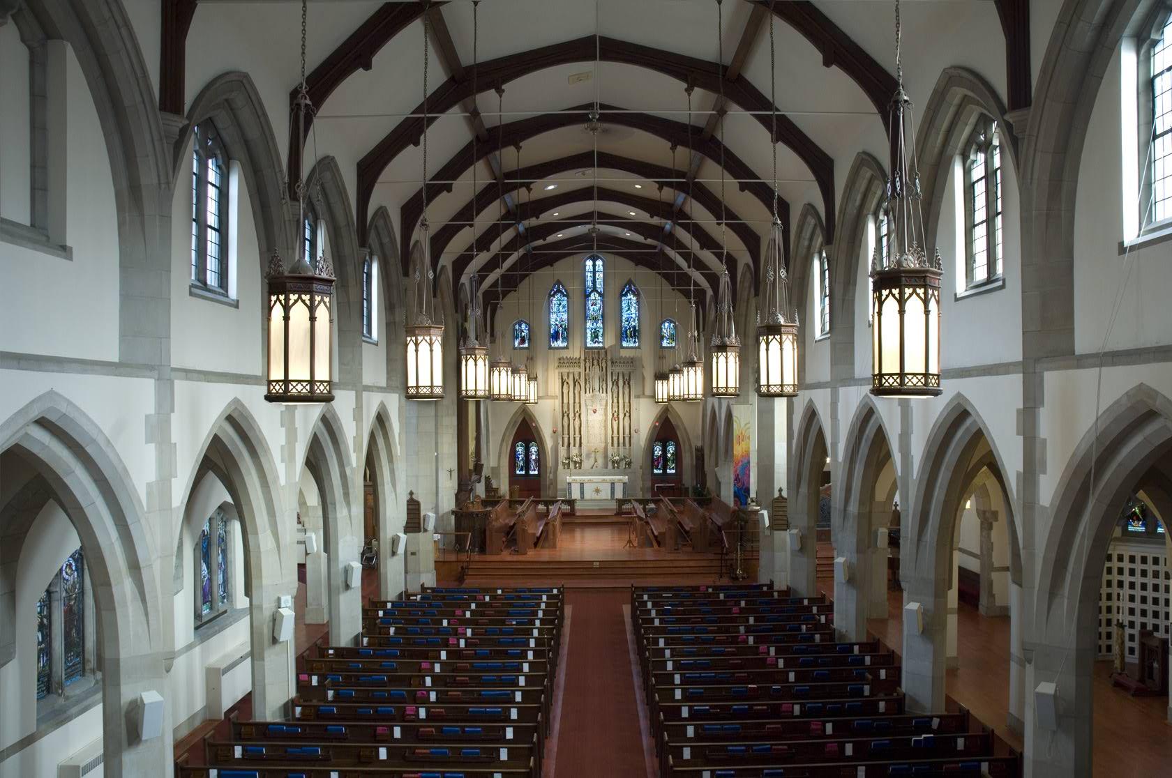 GRACE CHURCH ON THE HILL - Barwood Floors